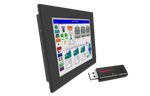 EZPanel PC + HMI Starter Kit - EZPCW10-T12C-64GB-HMI-SK