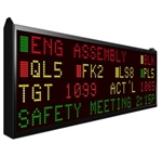 Master LED Message Display - EZiMT-4L40C-H
