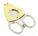 Credo Synchro Cigar Cutter, Stainless Steel and Gold | Credo Humidifiers.com