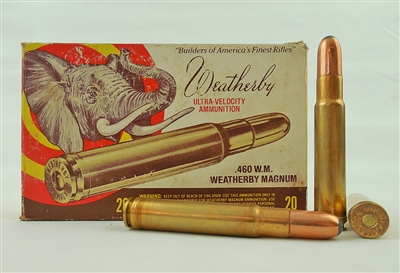 WEATHERBY .460 W.M. WEATHERBY MAGNUM