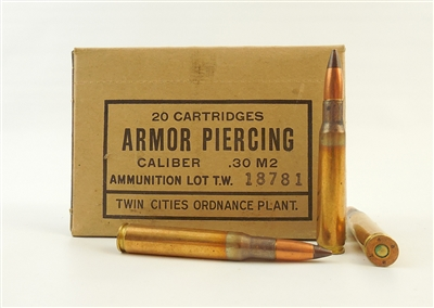 30-06 ARMOR PIERCING TWIN CITIES M2 AP