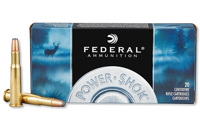 FEDERAL POWER-SHOK 30-30 WIN 125gr HP 20rd BOX