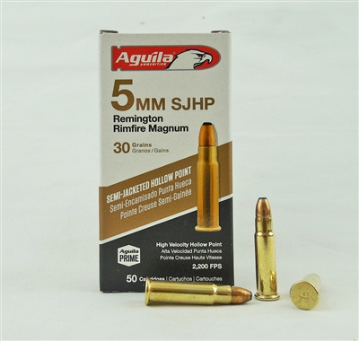 AGUILA 5mm REMINGTON RIMFIRE MAGNUM