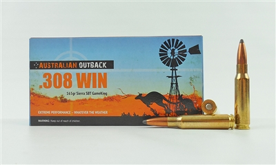 AUSTRALIAN OUTBACK 308 WIN SIERRA SBT GAMEKING