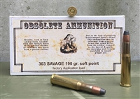 OBSOLETE AMMO 303 SAVAGE 190gr SP