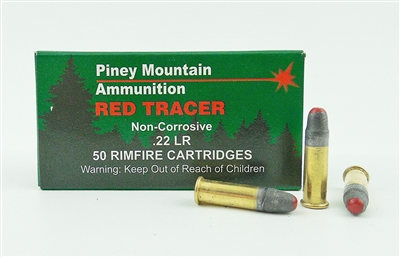 PINEY MOUNTAIN 22 LR 40gr RED TRACER