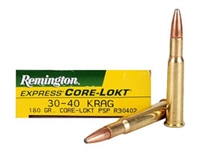 REMINGTON 30-40 KRAG 180gr CORE-LOKT