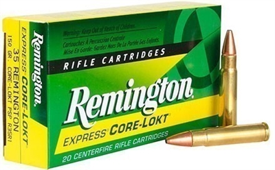REMINGTON EXPRESS 35 REMINGTON 150gr CORE LOKT