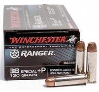 WINCHESTER 38 SPECIAL +P RANGER