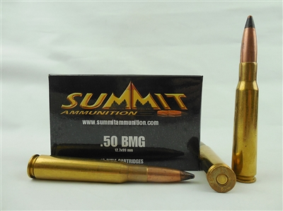 SUMMIT AMMUNITION 50 BMG AP LAKE CITY