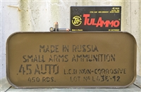 TulAMMO 45ACP 230gr FMJ 450rd SPAM CAN