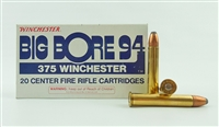 WINCHESTER 375 WIN 250gr POWER POINT 1970s production