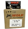 WOLF POLYFORMANCE 9mm 115gr 500rd CASE