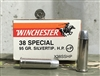 WINCHESTER 38 SPECIAL 95gr SILVERTIP HP +P 50rd BOX