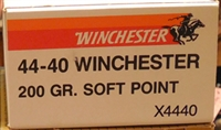 WINCHESTER 44-40 WIN 200gr SOFT POINT