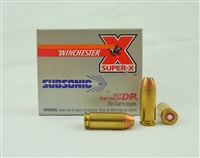 WINCHESTER 10mm SUBSONIC JHP