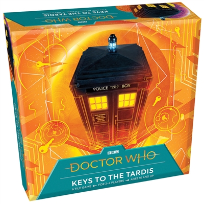 Keys to the TARDIS tile game