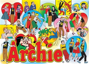 1000pc Classic Archie jigsaw puzzle | 53002 | Cobble Hill Puzzle Co