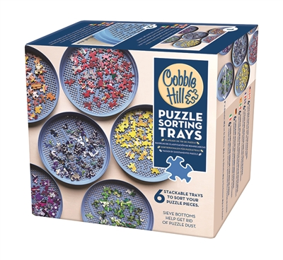 Puzzle Sorting Trays by Cobble Hill