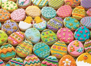 Family Pieces 350 Easter Cookies jigsaw puzzle | Item 54600 | Cobble Hill Puzzle Co