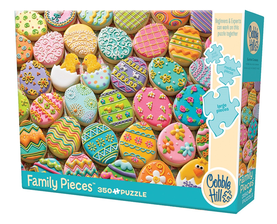 Family Pieces 350 Easter Cookies jigsaw puzzle   Item ...