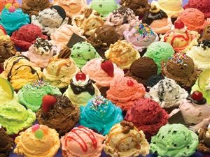 350 pc More Ice Cream jigsaw puzzle | Cobble Hill Puzzle Company