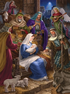 350 pc Holy Night jigsaw puzzle | Cobble Hill Puzzle Company