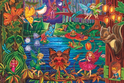36pc Fairy Forest jigsaw puzzle | Cobble Hill Puzzle Company