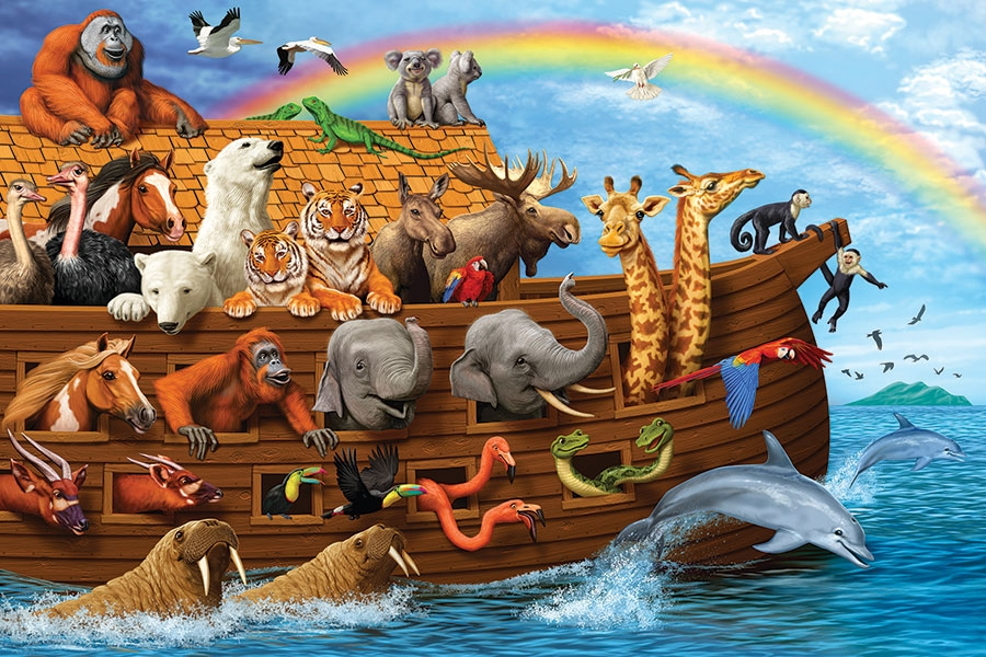 36pc Noahs Ark Jigsaw Puzzle