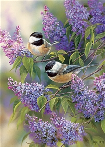 35pc Chickadee Duo Tray jigsaw puzzle | Item 58877 | Cobble Hill Puzzle Company