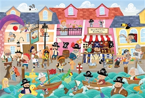35pc A Pirate's Life Tray jigsaw puzzle | Item 58878 | Cobble Hill Puzzle Company