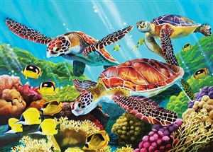 35pc Molokini Sea Tray jigsaw puzzle | Item 58879 | Cobble Hill Puzzle Company
