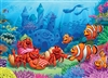 35pc Clownfish Gathering Tray jigsaw puzzle | Item 58882 | Cobble Hill Puzzle Company