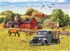 35pc Blue Truck Farm Tray jigsaw puzzle | Item 58890 | Cobble Hill Puzzle Company