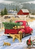 35pc Red Truck Farm Tray jigsaw puzzle | Item 58891 | Cobble Hill Puzzle Company