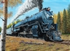 1000pc Santa Fe 3751 train jigsaw puzzle | 80003 | Cobble Hill Puzzle Co