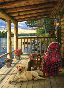 1000pc Cabin Porch jigsaw puzzle | 80005 | Cobble Hill Puzzle Co