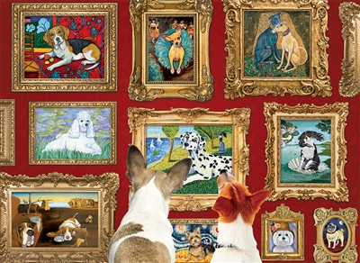 1000pc Dog Gallery jigsaw puzzle | 80014 | Cobble Hill Puzzle Co
