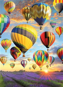 1000pc Hot Air Balloons jigsaw puzzle | 80025 | Cobble Hill Puzzle Co