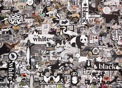 1000pc Black & White: Animals jigsaw puzzle | 80033 | Cobble Hill Puzzle Co
