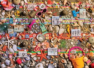 1000pc Beach Scene jigsaw puzzle | 80048 | Cobble Hill Puzzle Co