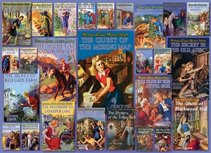 1000pc Vintage Nancy Drew jigsaw puzzle | Item 80051 | Cobble Hill Puzzle Co