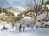 1000pc Hockey on Frozen Lake jigsaw puzzle | Cobble Hill Puzzle Company