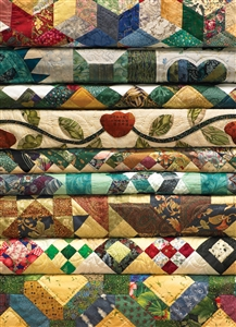 1000pc Grandmas Quilts jigsaw puzzle | Cobble Hill Puzzle Company