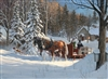 1000pc Sugar Shack Horses jigsaw puzzle | Cobble Hill Puzzle Company