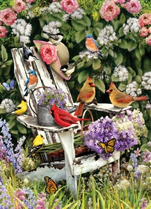 1000pc Summer Adirondack Birds jigsaw puzzle | Cobble Hill Puzzle Co