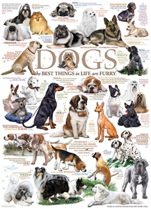 1000pc Dog Quotes jigsaw puzzle | Cobble Hill Puzzle Co