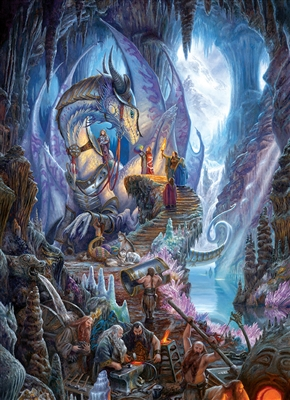 1000pc Dragonforge jigsaw puzzle | Cobble Hill Puzzle Co
