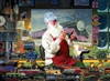 1000pc Santa's Hobby jigsaw puzzle |  Cobble Hill Puzzle Co