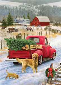 1000pc Christmas on the Farm jigsaw puzzle | 80127 | Cobble Hill Puzzle Co